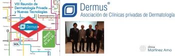 Ponencia oficial en la VIII Reunión de Dermatología privada y Nuevas tecnologías DERMUS