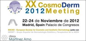 Ponencia oficial en el XX CosmoDerm y la XXIV Reunión del grupo español de Dermatología Estética y Terapéutica de la AEDV