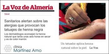 Alertan sobre las alergias de la henna negra y los dermatólogos aconsejan la henna natural
